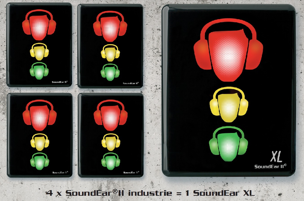 Indicateur de Bruit SoundEar II Industrie XL